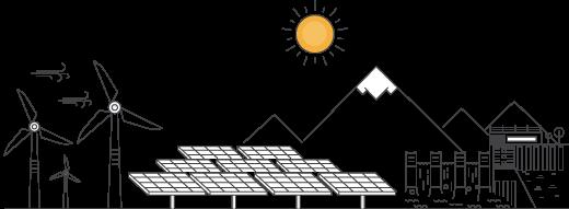 sauberen Energieproduktion